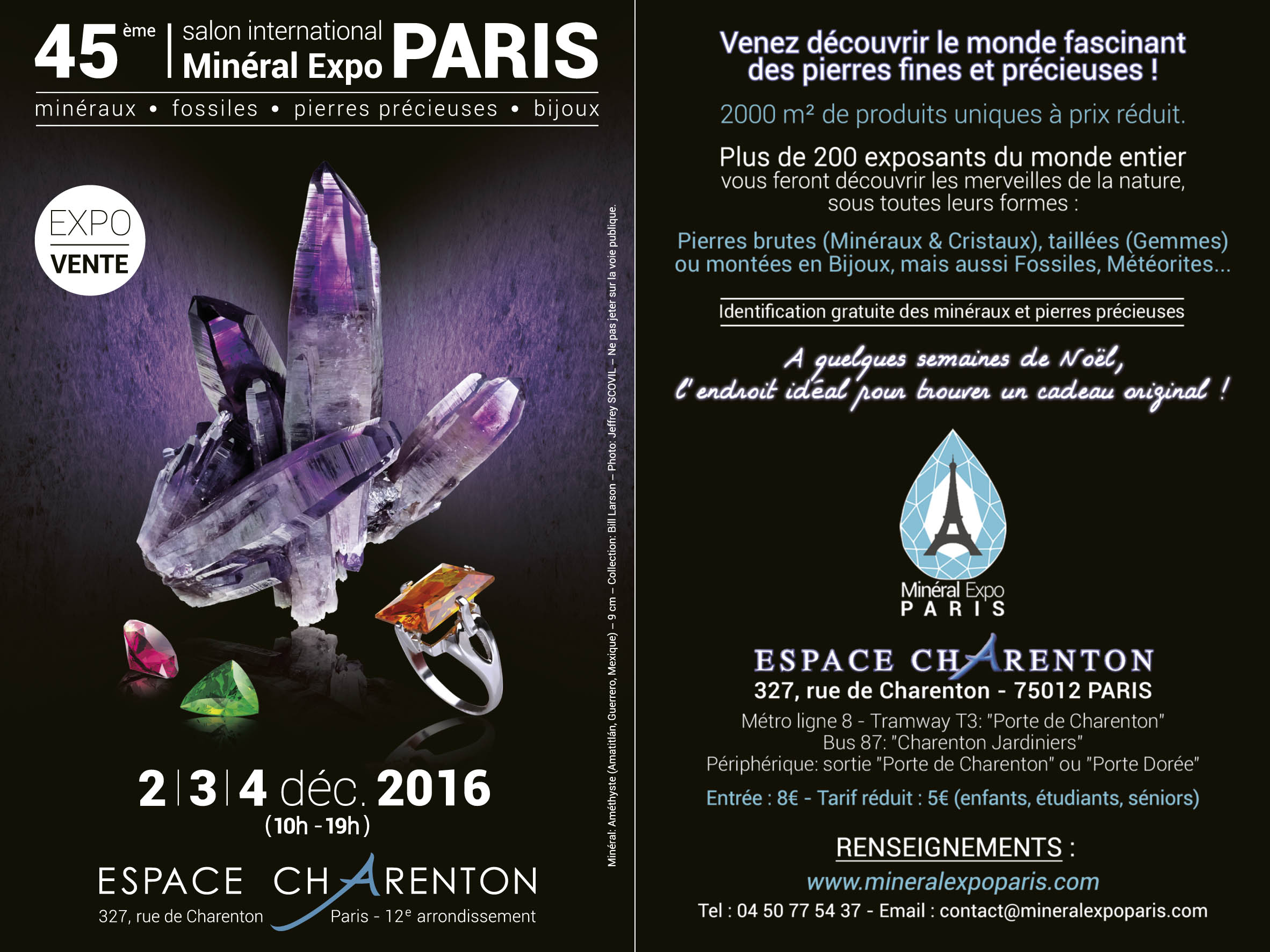 final - Flyer 2014 - 10x15cm - Mineral Expo Paris - imprimeur